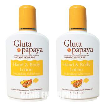 Andrea Secret Gluta & Papaya Hand and Body Lotion 100g, Set of 2 Price Philippines