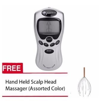 Health Herald St-688 Digital Therapy Machine with 2 Pads (Silver) with Free Head Massager Assorteed color Price Philippines