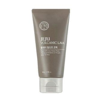 Harga THE FACE SHOP Jeju Volcanic Lava Clay Nose Pack
