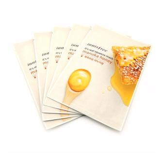 Harga Innisfree It's Real Squeeze Mask- Manuka Honey 20ml (Set of 5)