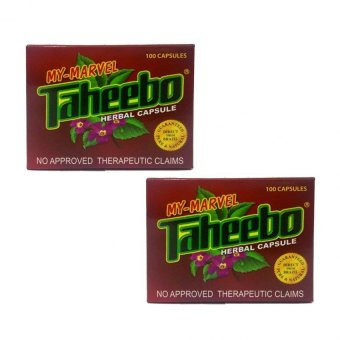 Harga Taheebo Herbal Capsule 500mg Box of 100's (Set of 2)