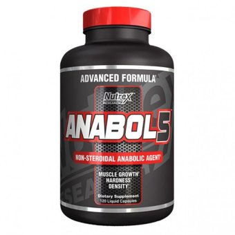 Harga Nutrex Research Anabol-5, 120 Count