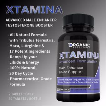 XTAMINA Male Enhancement Testosterone Energy Booster, All Natural, Clinically Proven Effective, 60caps Price Philippines