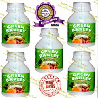 Harga Health Wealth Green Barley Health Drink Set of 5