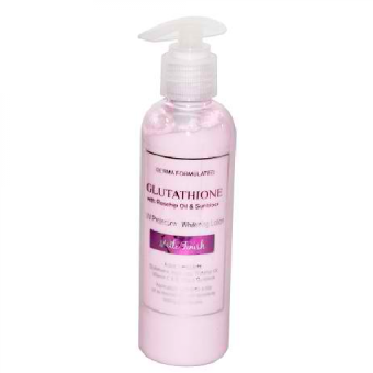 Harga GLUTA BLEND LOTION - GLUTATHIONE MATTE FINISH WHITENING LOTION WITH ROSEHIP SUNBLOCK AND KOJIC ACID- 200 ML