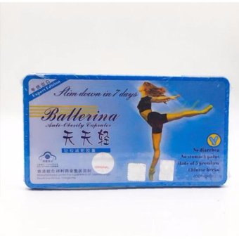 Ballerina 7 Days Slimming Capsule (24 Caps) Price Philippines
