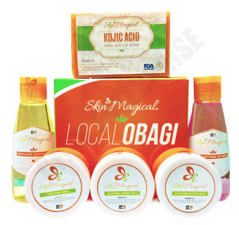 Harga Skin Magical Local Obagi Lotion, Kojic Soap, Clarifying Lotion, Bleaching and Placenta Cream Facial Repair Kit