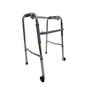 Care&Cure Medical Walker Aid Reciprocal with Wheels (Silver) Price Philippines