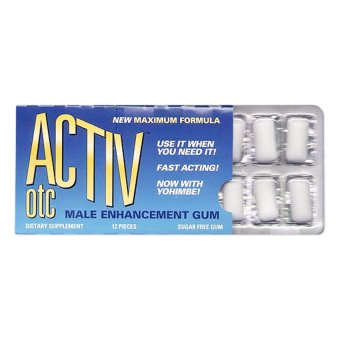 Activ OTC Male Enhancement Gum Price Philippines