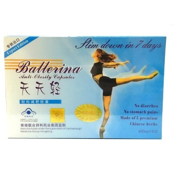 Ballerina Anti-Obesity Capsules 400mg x 20s Price Philippines