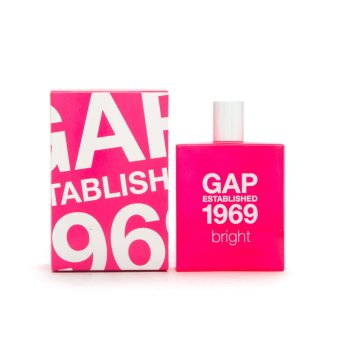 Gap Established 1969 Bright Eau de Toilette for Women 100ml Price Philippines