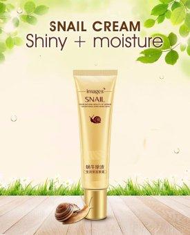 IMAGES Remove Dark Circles Hyaluronic Acid Cream Snail Eye CreamWhitening Moisturizing Anti-aging Wrinkle Snail Cream Essence -intl - 4
