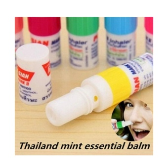 Imported Inhaler Menthol from Thailand for pain and insect bites