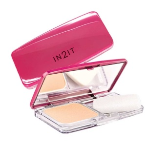 IN2IT Oil Control and Oil Free 2-way Foundation 01 (Soft Beige)