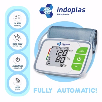 Indoplas Blood Pressure Monitor - Fully Automatic