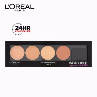 Infallible Total Cover 4-in-1 Concealing & Contour Kit [#GotYouCovered] by L'Oreal Paris
