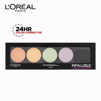 Infallible Total Cover All-in-1 Color Correcting Kit [#GotYouCovered] by L'Oreal Paris