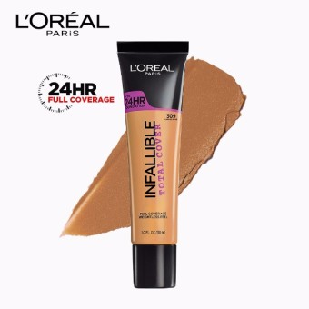 Infallible Total Cover Liquid Foundation - 309 Caramel Beige [#GotItCovered 24HR Full Coverage] by L'Oreal Paris