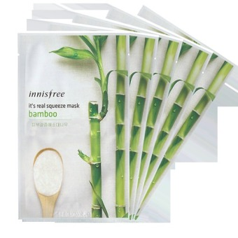 Innisfree It's Real Squeeze Mask- Bamboo 20ml (Set of 5)