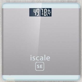 Iscale SE Digital Scale High Accuracy Weight Scale (White-Gray)