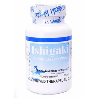 Ishigaki Amino Classic White 60 Capsules Authentic