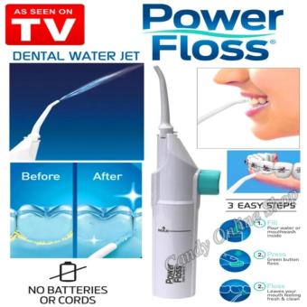 J&C Portable Power Floss Dental Water Jet Whitening CleaningKit Price Philippines