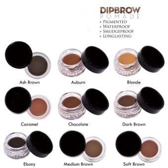 J&J DIPBROW Pomade Eyebrow (Ash Brown) - 3