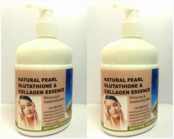 Japan Natural Pearl Glutathione & Collagen Essence Lotion 500mlset of 2s Price Philippines