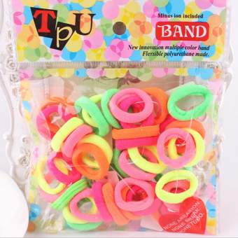 Jetting Buy Kids Girls Elastic Ties Hair Bands Ropes 40Pcs