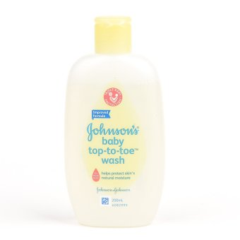 Johnsons Baby Bath x48 Top To Toe Wash 200ml