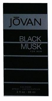 Jovan Black Musk Cologne Spray for Men 88 ML - picture 2