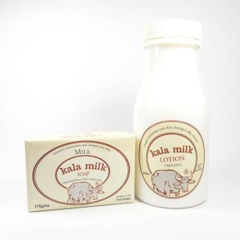 Kala Milk Soap 115g (Milk) and Kala Milk Original Lotion 275ml