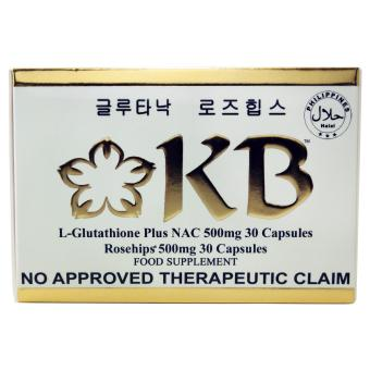 KB Kyusoku Bihaku Glutathione Activator plus NAC Rosehips 500mgcapsules - 2