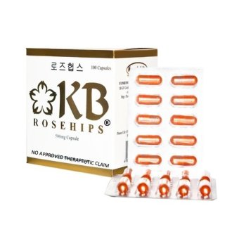 KB Rosehips 500mg Capsule Box of 100