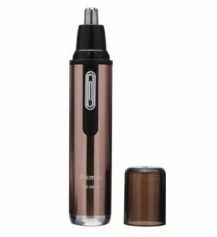 KEMEI KM-6619 110-220V Safe Stainless Rechargeable Nose & EarHair Removal Trimmer Mute Handy