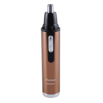 Kemei KM-6619 Rechargeable Men Nose Ear Nasal Face Hair RemovalTrimmer Shaver Clipper