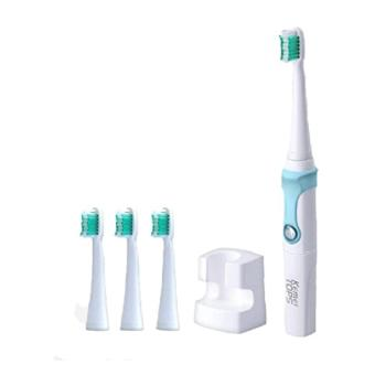 Kemei KM - 907 Waterproof Rechargeable Electric Toothbrush With 3Replaceable Toothbrush Heads