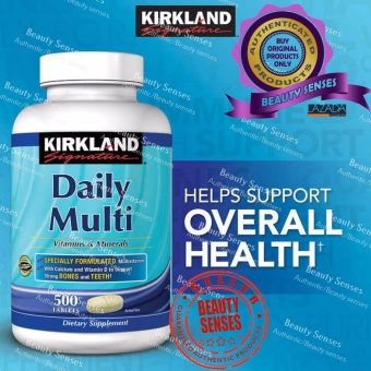 Kirkland Signature Daily Multi Vitamins & Minerals 500s Price Philippines
