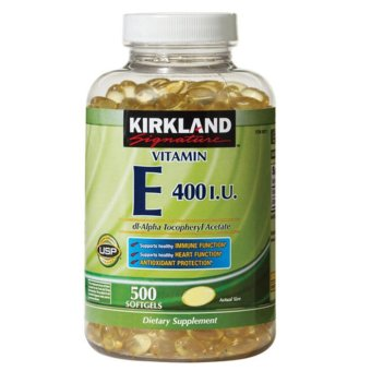 Kirkland Vitamin E - 400 IU, 500 Softgels