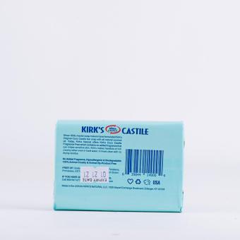 Kirk's Castille Fragrance Free Soap 113g - 2