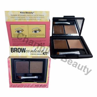 Kiss beauty Brow Contour Kit 2 pallete