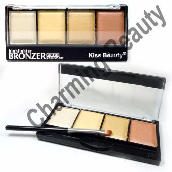 Kiss Beauty Professional Makeup 3in1 Brighten, Contour, Concealer HIGHLIGHTER and CONTOUR