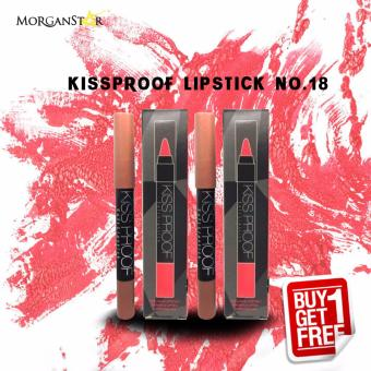 Kissproof Matte Lipstick No. 18 Buy One Take One Price Philippines