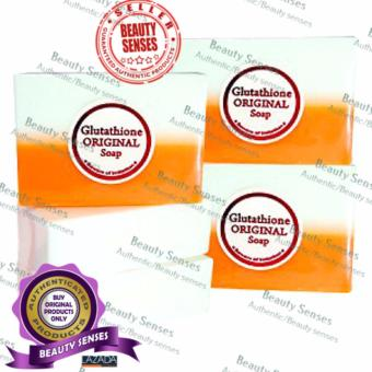 Kojic Acid & Glutathione Dual Whitening/Bleaching Soap 120g Set of 5