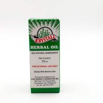 Krystall herbal oil 15ml Price Philippines