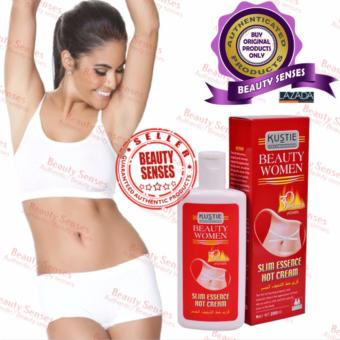 Kustie Beauty Women Slim Essence Hot Cream 200ml 30minutes (POWER)