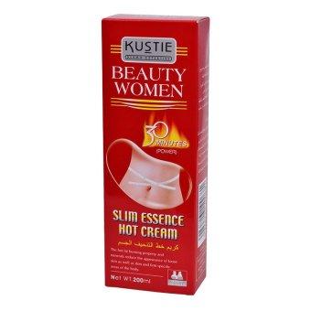 Kustie Beauty Women Slim Essence Hot Cream (Power) 200ml