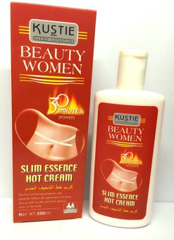 Kustie Beauty Women Slim Essence Hot Cream (Power) 200ml