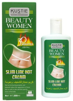Kustie Beauty Women Slim Line Hot Cream (Gentle) 200ml