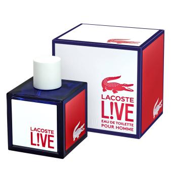 LACOSTE Live! Eau de Toilette Spray 100 ml/ 3.3 fl oz (UPC: 737052780382)